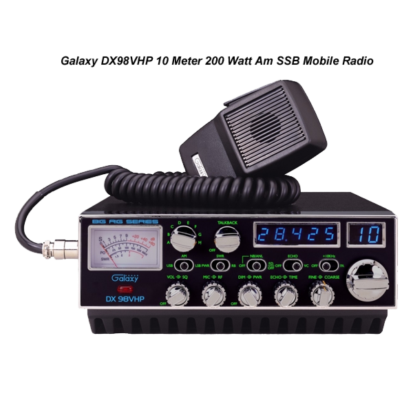 Galaxy DX-98VHP AM/SSB High Power Amateur Transceiver 300 Watts!
